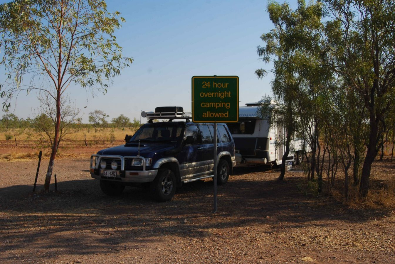 Rest Area Camping - Avon Downs NT