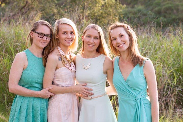 Laura, Anna, Zoe, Olivia