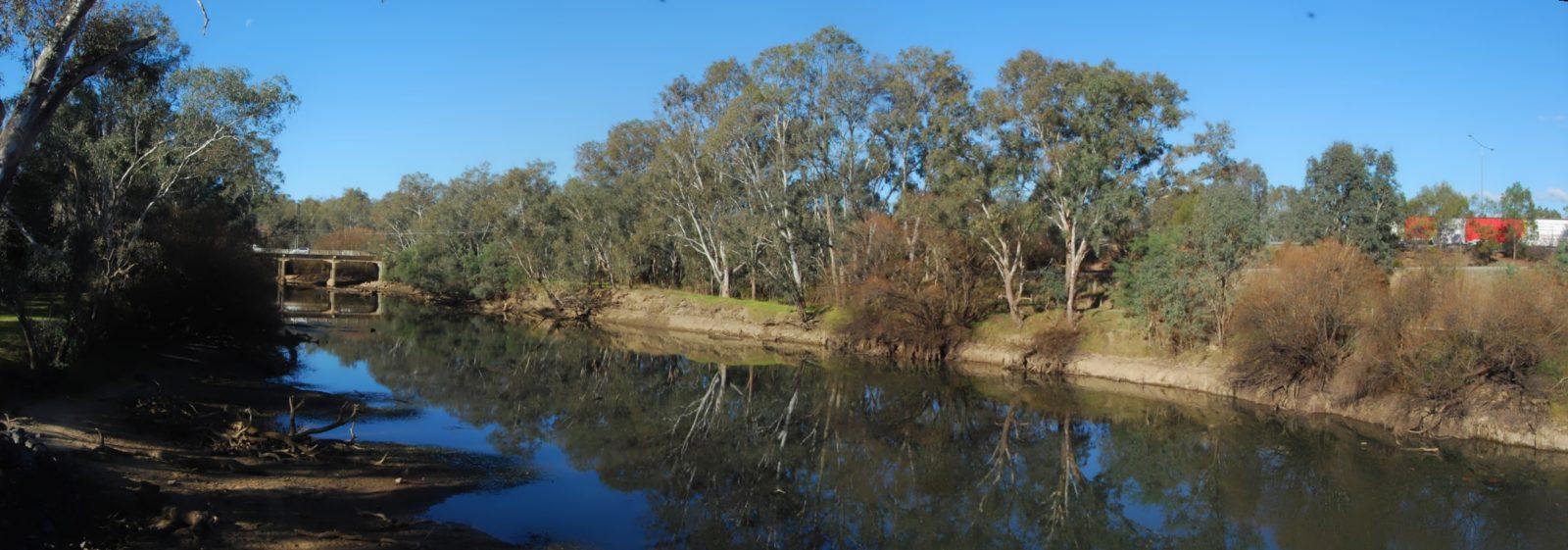 Wodonga Creek and Hume Highways