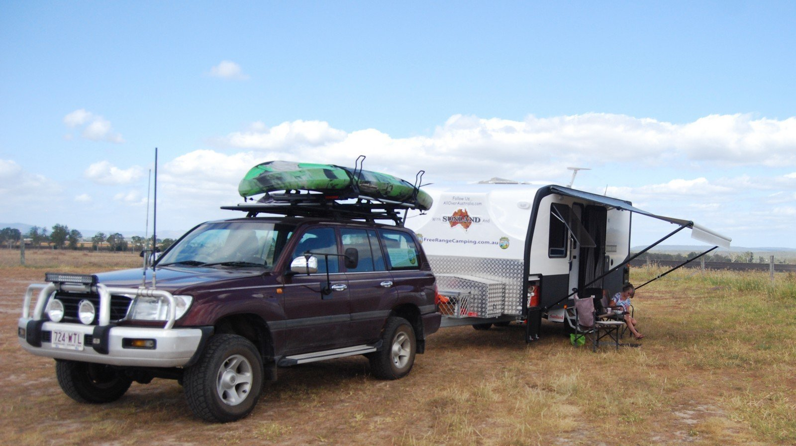 Our Rig at Lake Clarendon