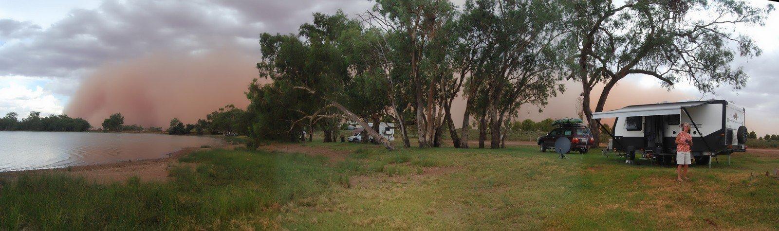 Lake Cargelligo Dust Storm