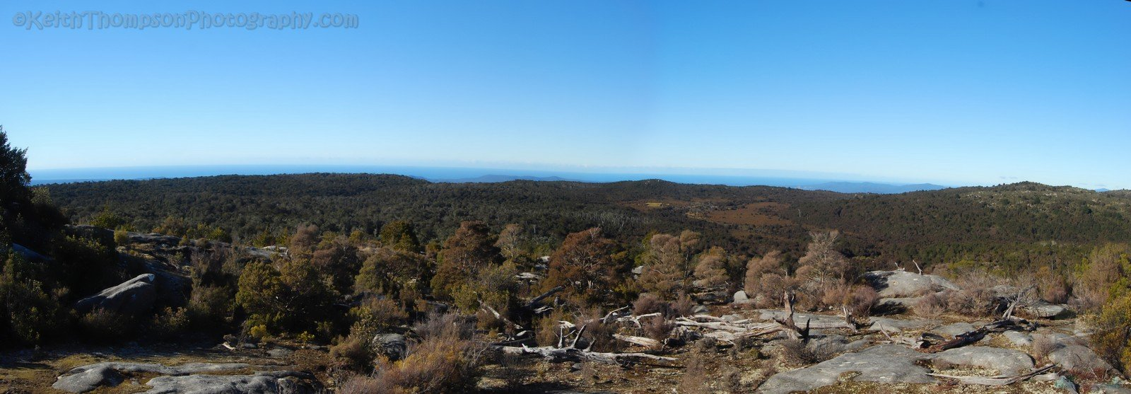 South Eastern View from Mount Michael
