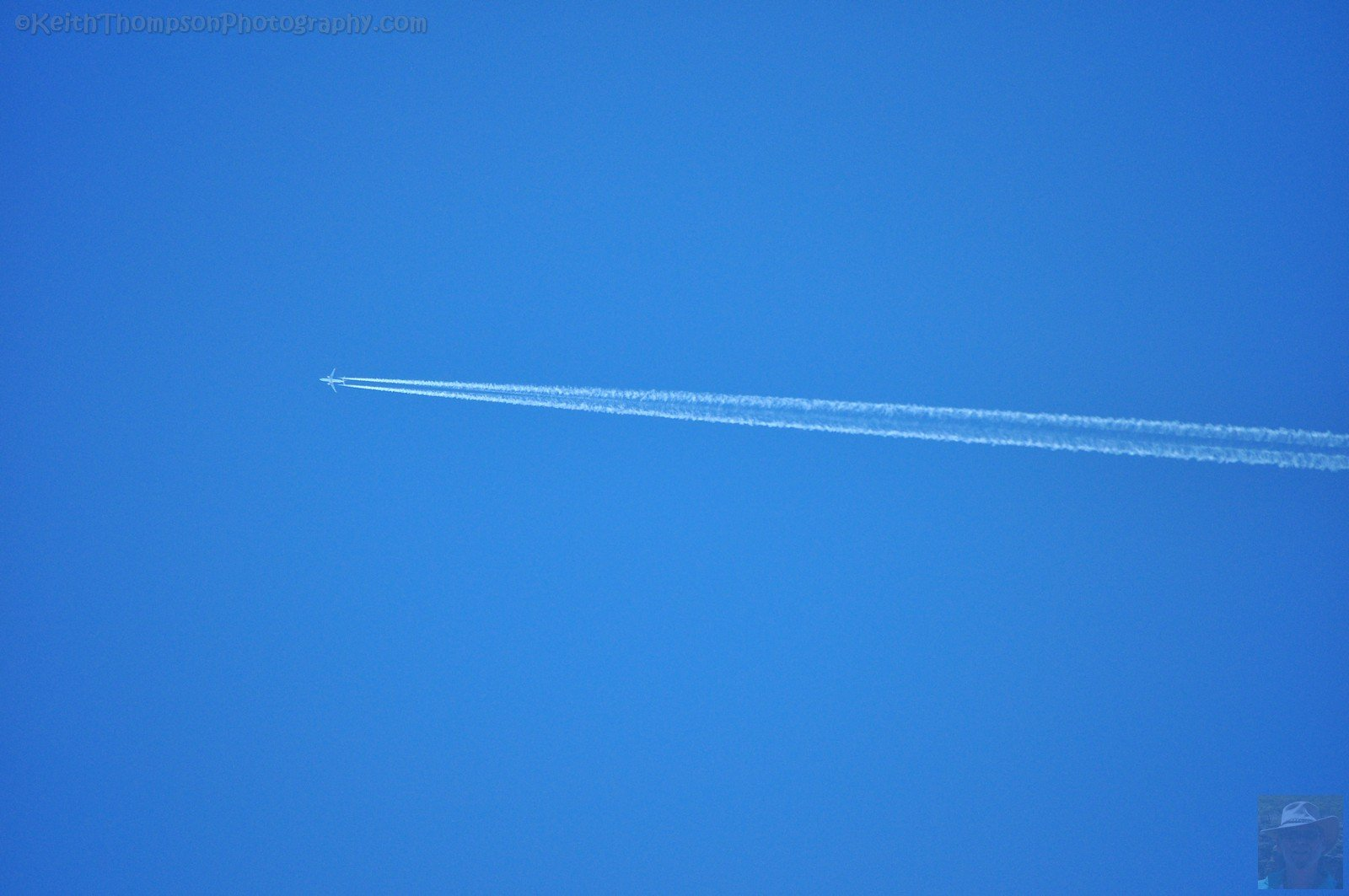 Typical Tasmania Jet Trail