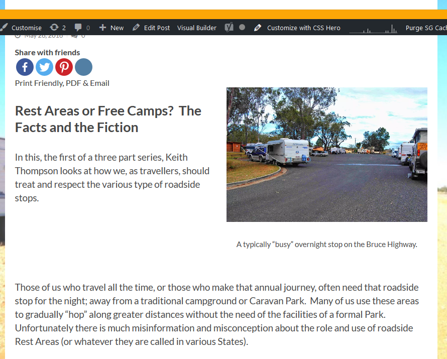 Screenshot 2019 07 27 Rest Areas as or Free Camps Part 1 All Over Australia