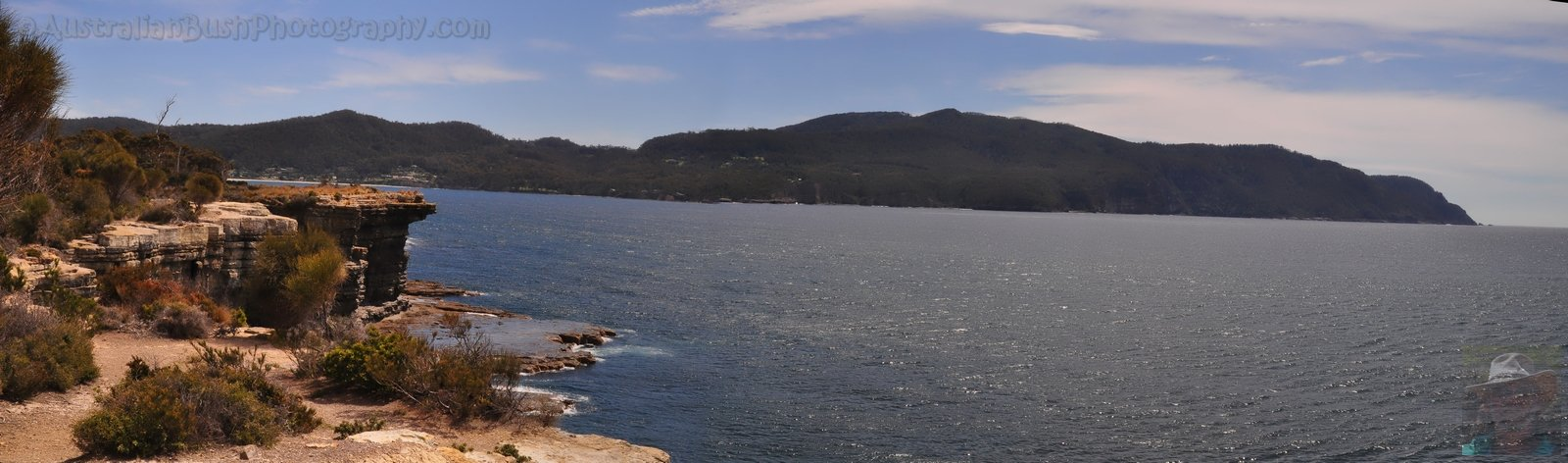 Pirates Bay from The Blowhole Lookout
