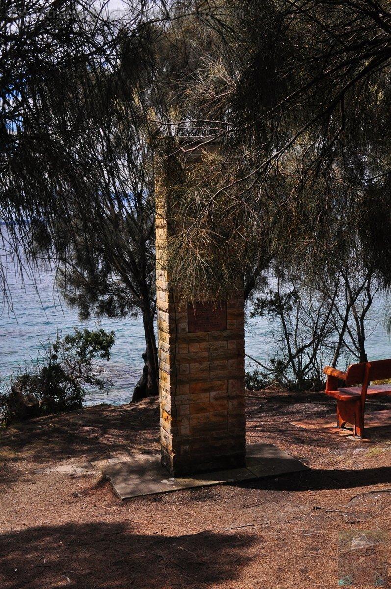 Captain Cook Memorial, Adventure Bay