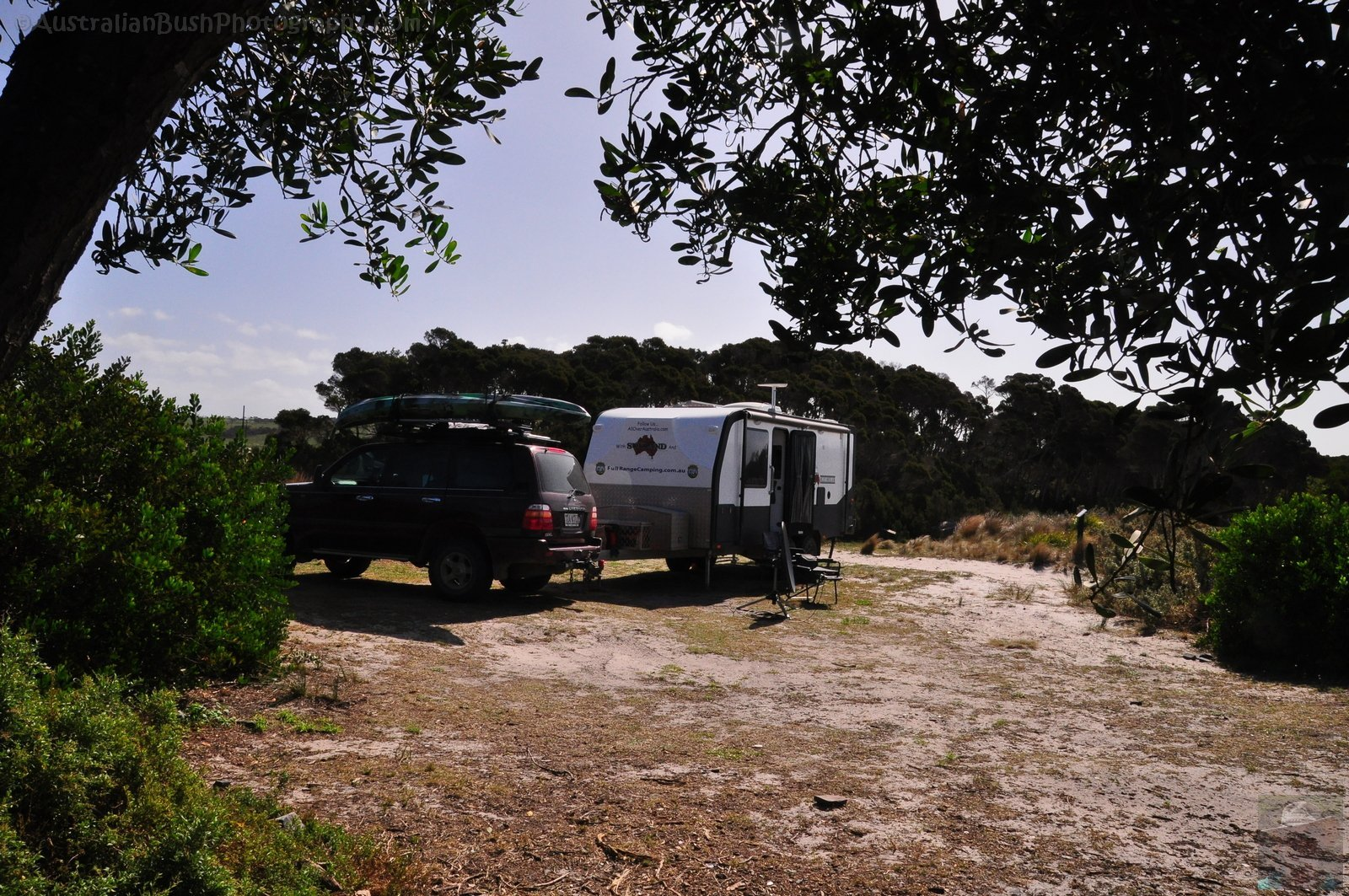 Our Camp at Policemans Point