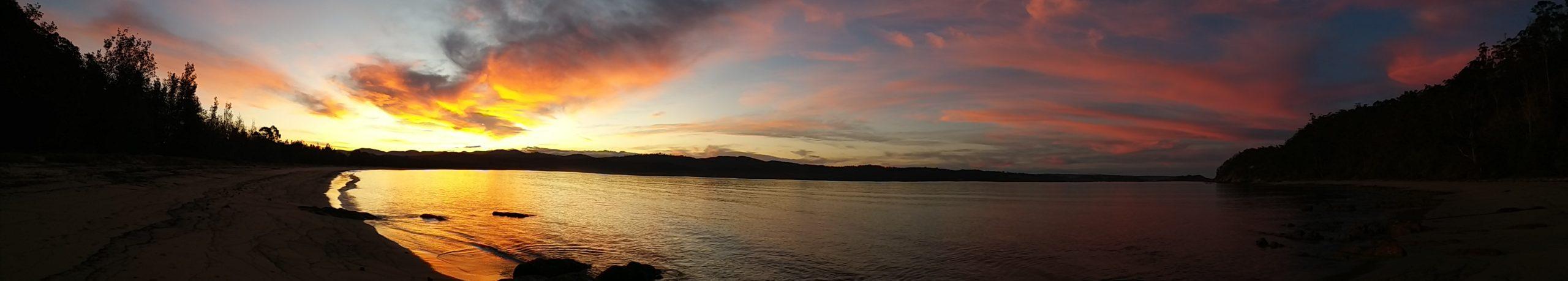 Sunset at Boydtown Bay