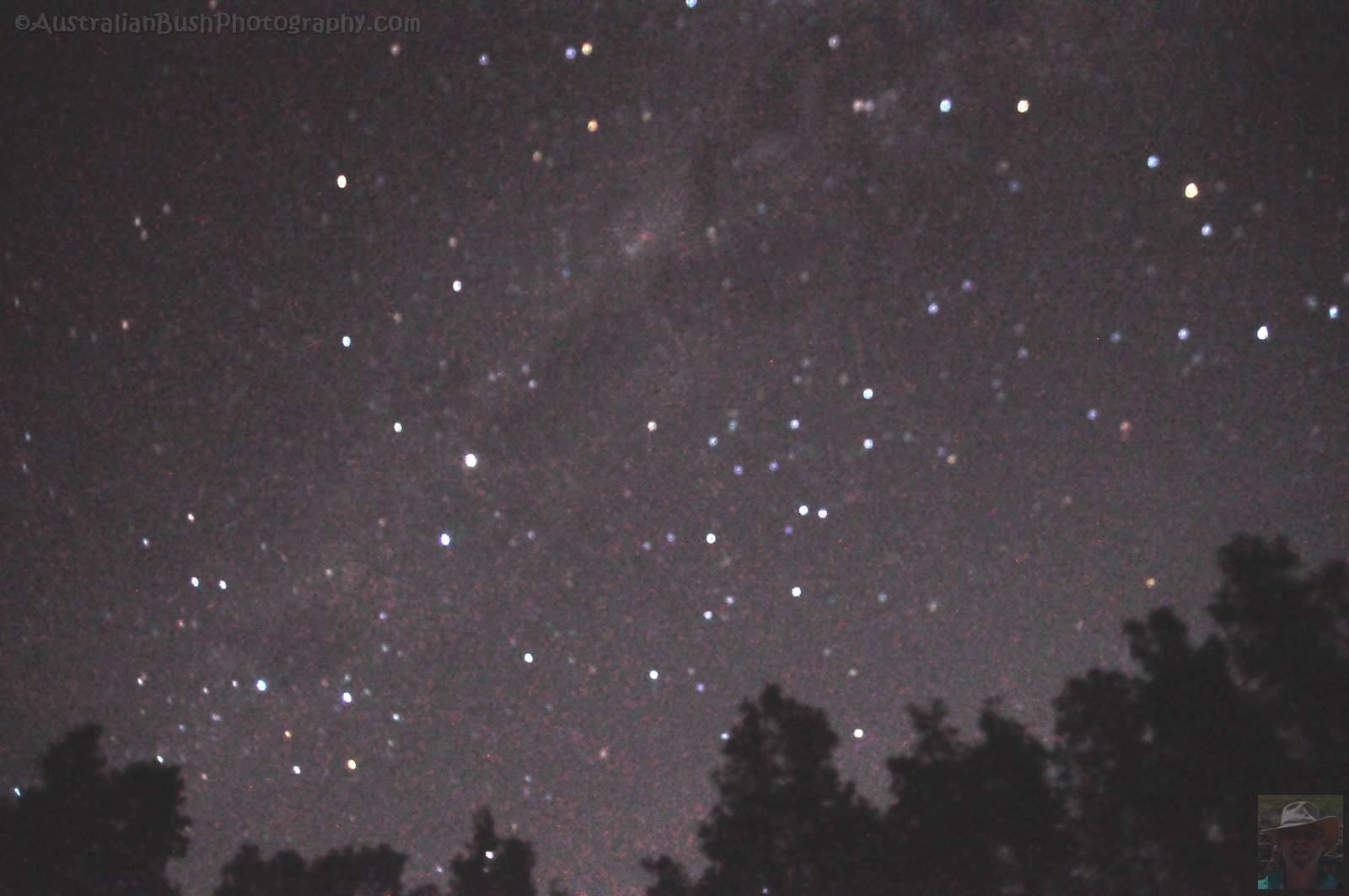 Night Sky over Boydtown