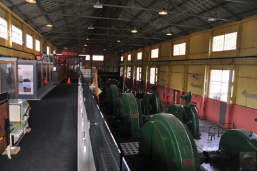 Display Area and Turbine Room